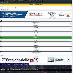 Suivez en directla journée d'investiture d'Emmanuel Macron