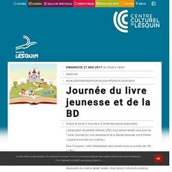 Journée du livre jeunesse et de la BD – Centre Culturel de Lesquin