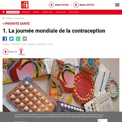 1. La journée mondiale de la contraception