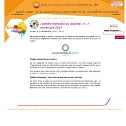 Journée mondiale du diabète, le 14 novembre 2014