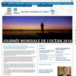 Journée mondiale de l'océan 2016