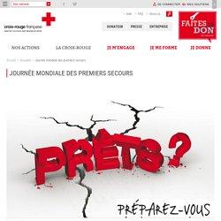 Journée mondiale des premiers secours