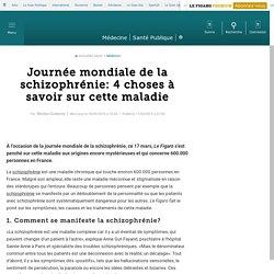 Journée mondiale de la schizophrénie : 4 choses à savoir sur cette maladie