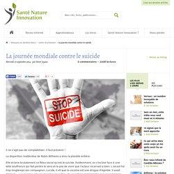 La journée mondiale contre le suicide