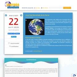 22 avril - Journée Mondiale de la Terre