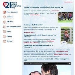 Journée mondiale de la trisomie 21 en Suisse