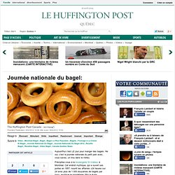 Journée nationale du bagel:
