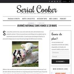 Journée nationale sans viande le 20 mars