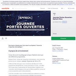 Journée Portes Ouvertes - Epitech Nice Billets, Le sam 16 janv. 2021 à 10:00