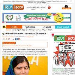 Journée des filles : le parcours de Malala - 1jour1actu