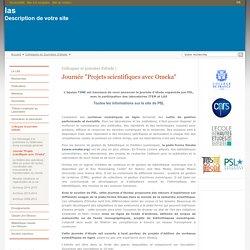 """las : Journée """"Projets scientifiques avec Omeka"""""""