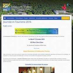 Journée m-Tourisme 2016 - Telecom Valley