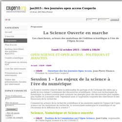 6es journées open access Couperin - Sciencesconf.org