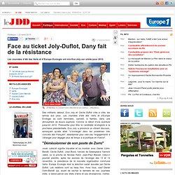 Face au ticket Joly-Duflot, Dany fait de la résistance - Journées écolos de Nantes, Europe Ecologie, Verts, Eva Joly, Cécile Duflot, Daniel Cohn-Bendit