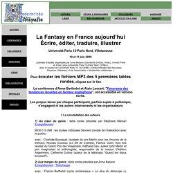 journées Fantasy en France