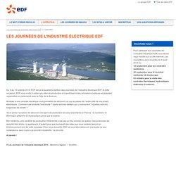 EDF Les Journées de l'industrie électrique