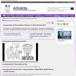 Les Journées de l'innovation - Les journées de l'innovation à l'Unesco, le 28 et 29 mars 2012