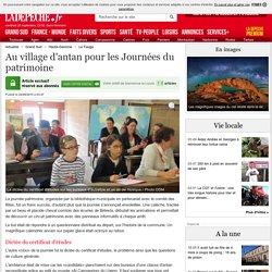 Au village d'antan pour les Journées du patrimoine - 24/09/2015 - ladepeche.fr