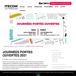 PREPA ART DIGITAL JPO Journées portes ouvertes 2021 Paris, Nice