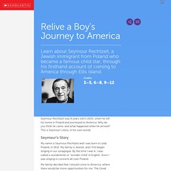 Relive a Boy's Journey to America