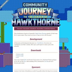 community - journey to the center of hawkthorne