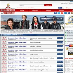 Journey Tickets - Journey Concert Tickets 2013 - 2014