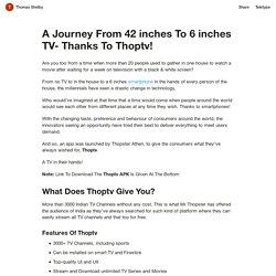 Download Official ThoopTV APK Latest Version V23.0 On Techravy