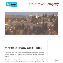 Israel guide for holy land trips