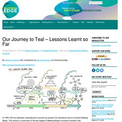 Our Journey to Teal - Lessons Learnt so Far - Enlivening Edge