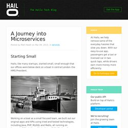 A Journey into Microservices