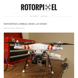 Journey — Rotorpixel: Multi-rotor Imaging
