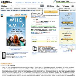 Who Am I and If So How Many?: A Journey Through Your Mind: Amazon.co.uk: Richard David Precht
