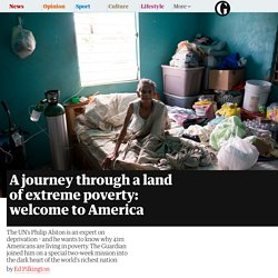 A journey through a land of extreme poverty: welcome to America