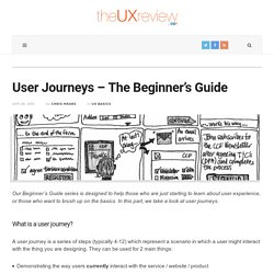 User Journeys - The Beginner's Guide - The UX Review
