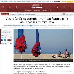 Jours fériés et congés : non, les Français ne sont pas les mieux lotis