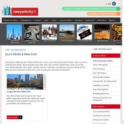 Jours Fériés à New York - NewYorkCity.fr