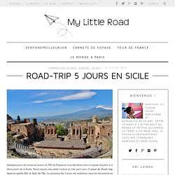Road-trip 5 jours en Sicile - My Little RoadMy Little Road
