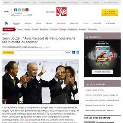 """Jean Jouzel : """"Avec l'accord de Paris, nous avons fait la moitié du chemin"""" - Écologie"""