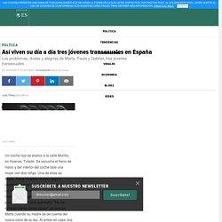 Así viven su día a día tres jóvenes transexuales en España