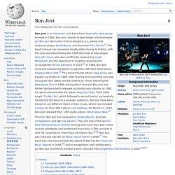 Bon Jovi information