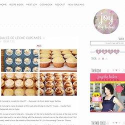 Dulce de Leche Cupcakes