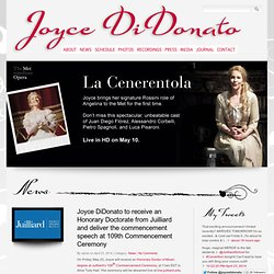 Joyce DiDonato - The official web site of Joyce DiDonato