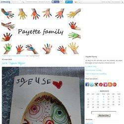"Carte ""Joyeuse Pâques"" - Payette Family"