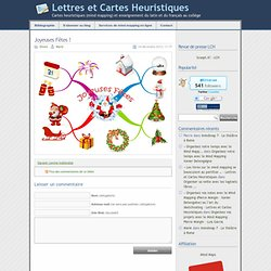 » Joyeuses Fêtes ! - Lettres et Cartes Heuristiques