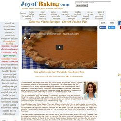 Baking & Dessert Recipes & Videos - Joyofbaking.com *Tested Recipes*
