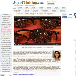 Baking & Dessert Recipes & Pictures - Joyofbaking.com *Fully Tes
