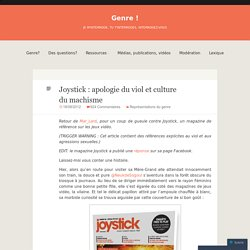 Affaire Joystick par Mar_Lard