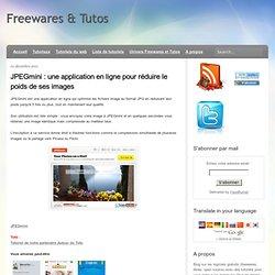 une application en ligne pour réduire le poids de ses images