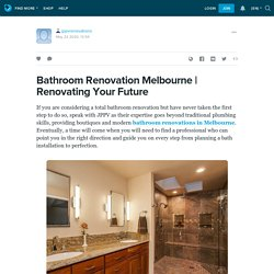 Renovating Your Future: jppvrenovations — LiveJournal
