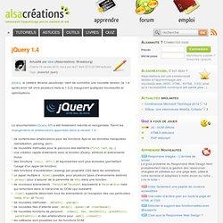jQuery 1.4 - Alsacréations